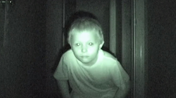 Night vision boy.