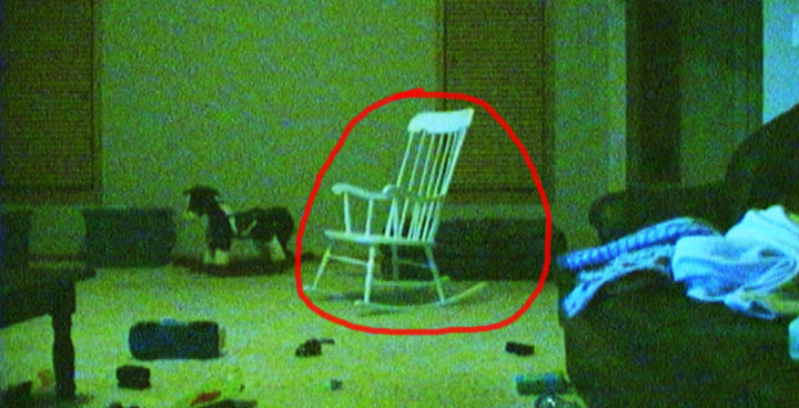 Scary Rocking Chair ~ Ghost caught on tape